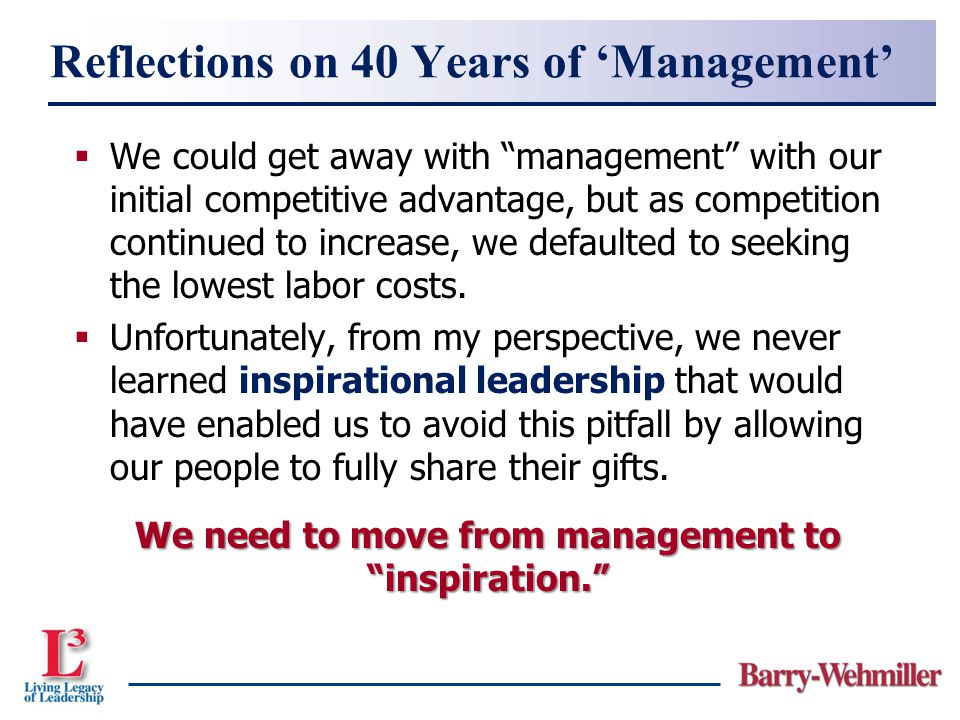 Reflections on 40 Years of 'Management'