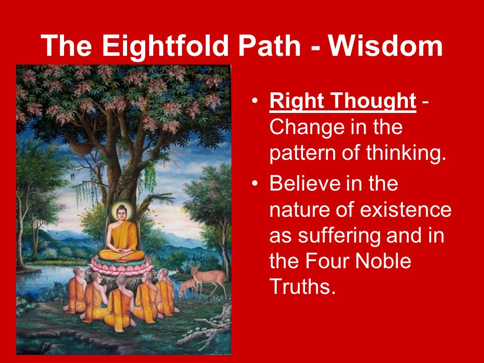 The Eightfold Path - Wisdom