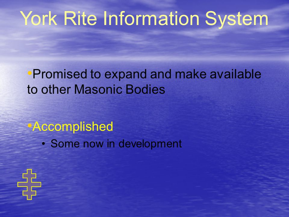 York Rite Information System