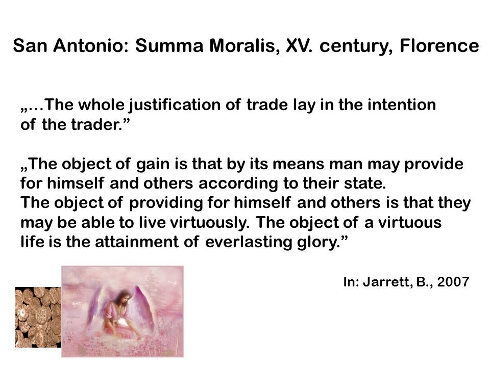 San Antonio: Summa Moralis, XV. century, Florence