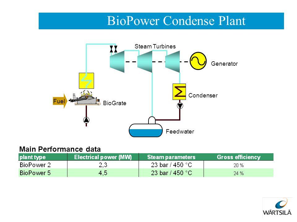 BioPower Condense Plant