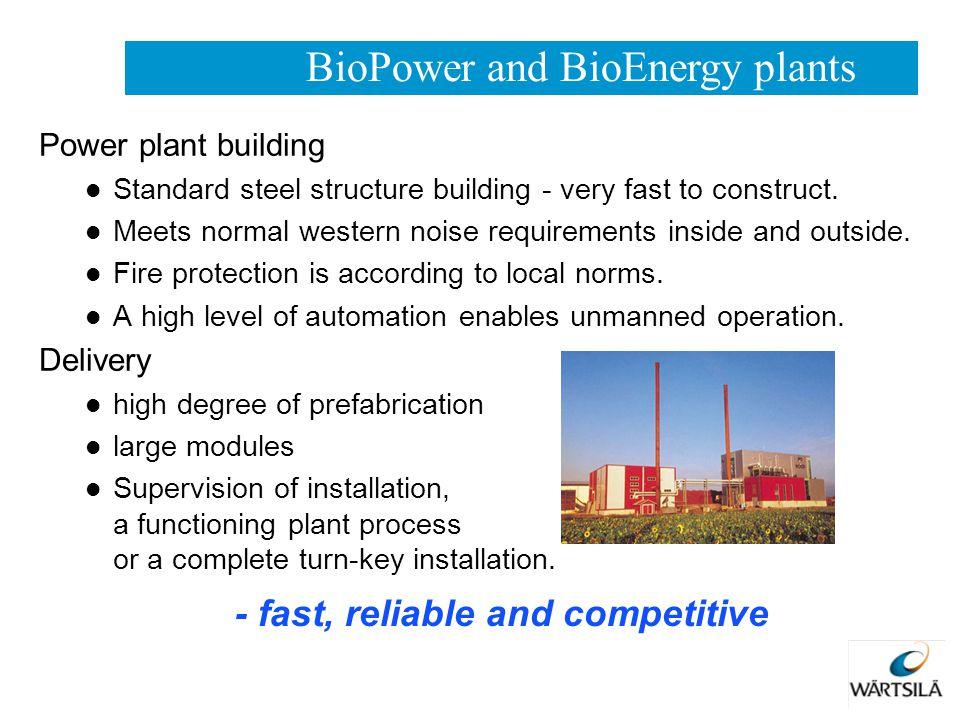 BioPower and BioEnergy plants