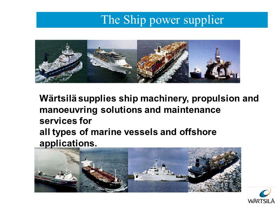 The Ship power supplier