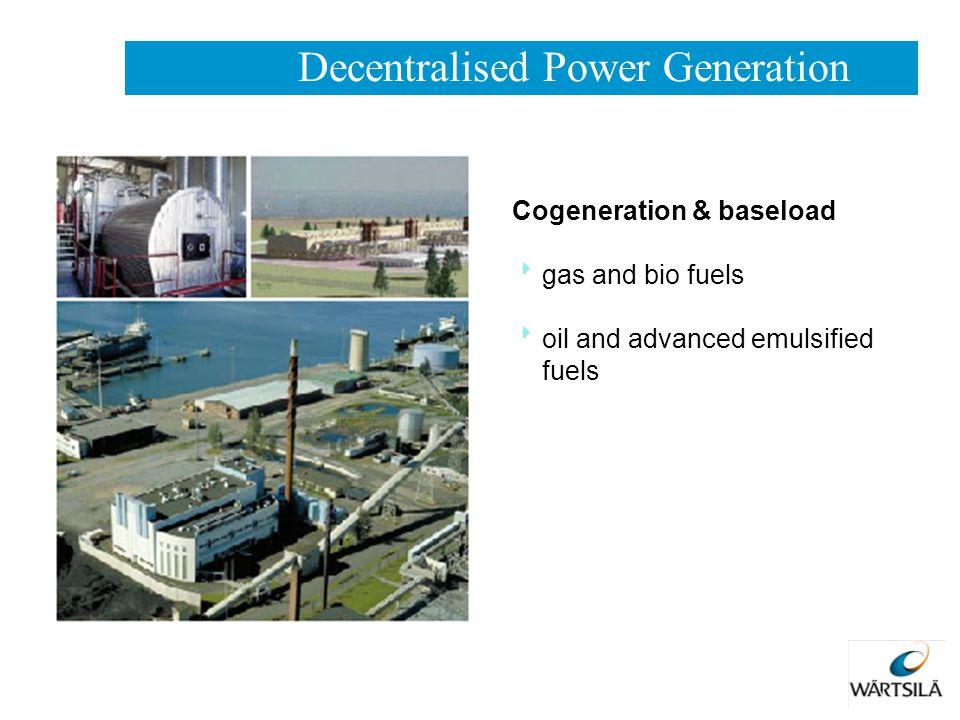 Decentralised Power Generation