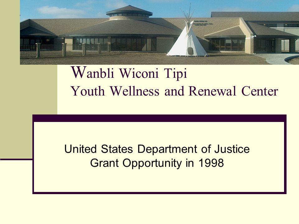 Wanbli Wiconi Tipi Youth Wellness and Renewal Center