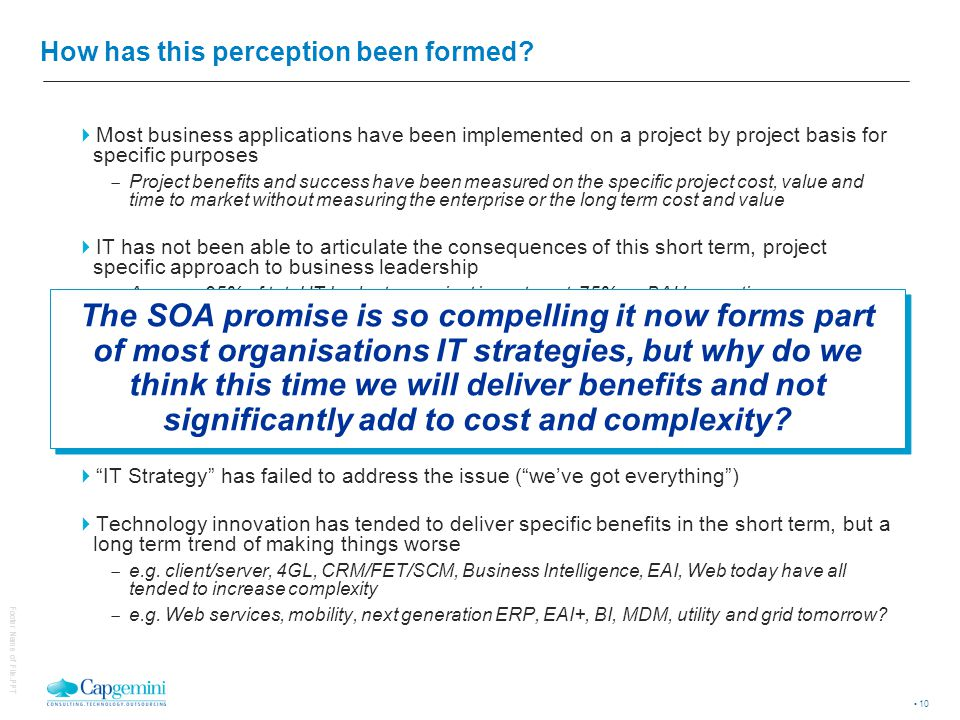 Business leaders cite 2 core issues to project and TCO dissatisfaction