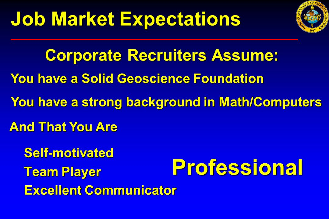Job Market Expectations
