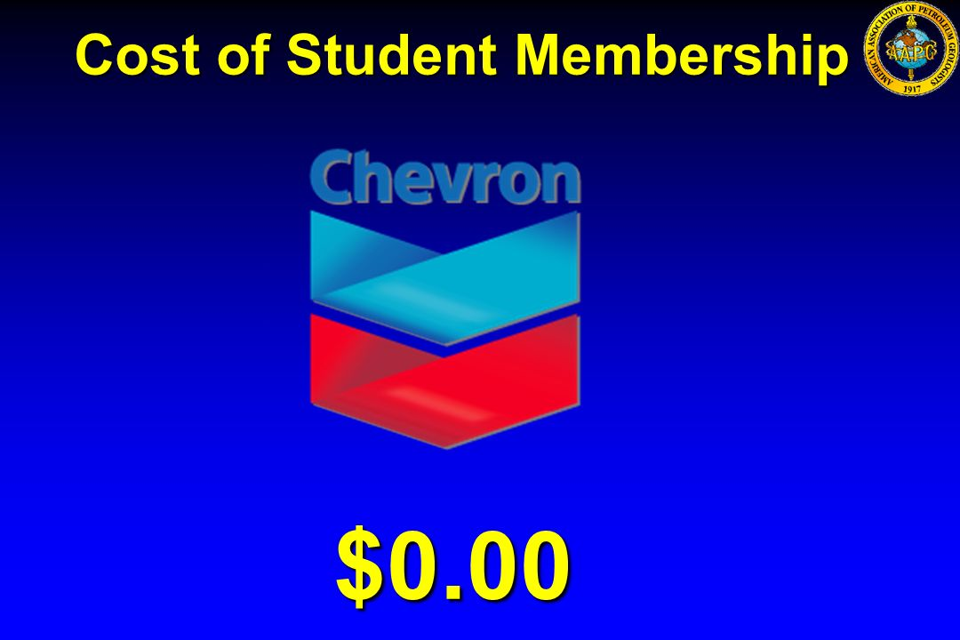 $0.00 Cost of Student Membership