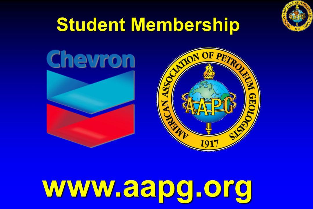 www.aapg.org Student Membership