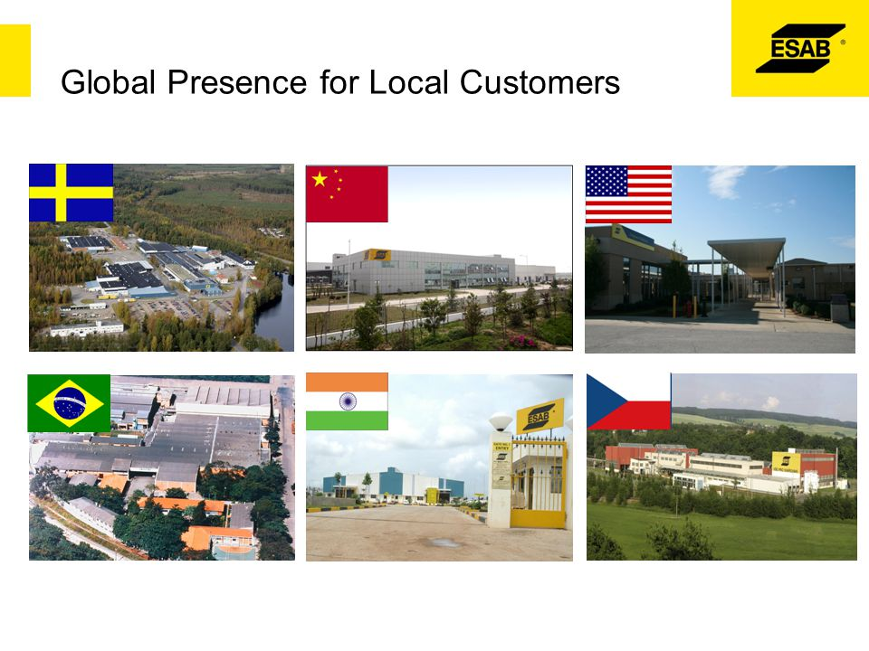 Global Presence for Local Customers