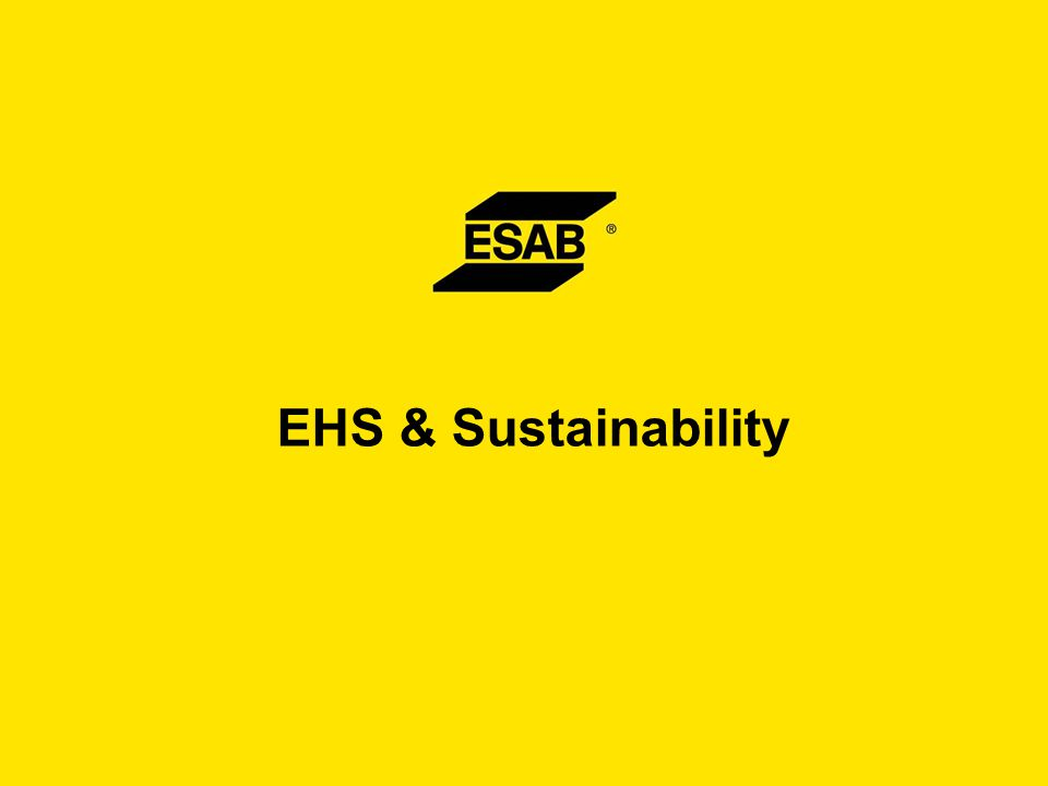 EHS & Sustainability