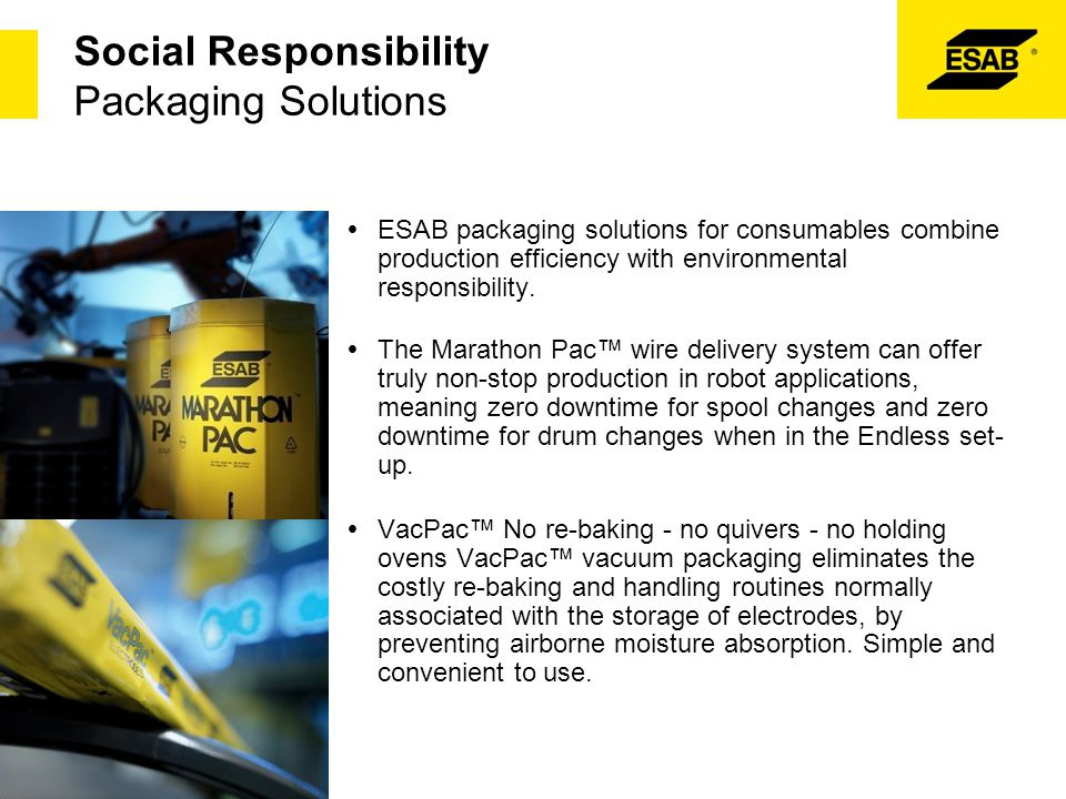 Social Responsibility Packaging Solutions