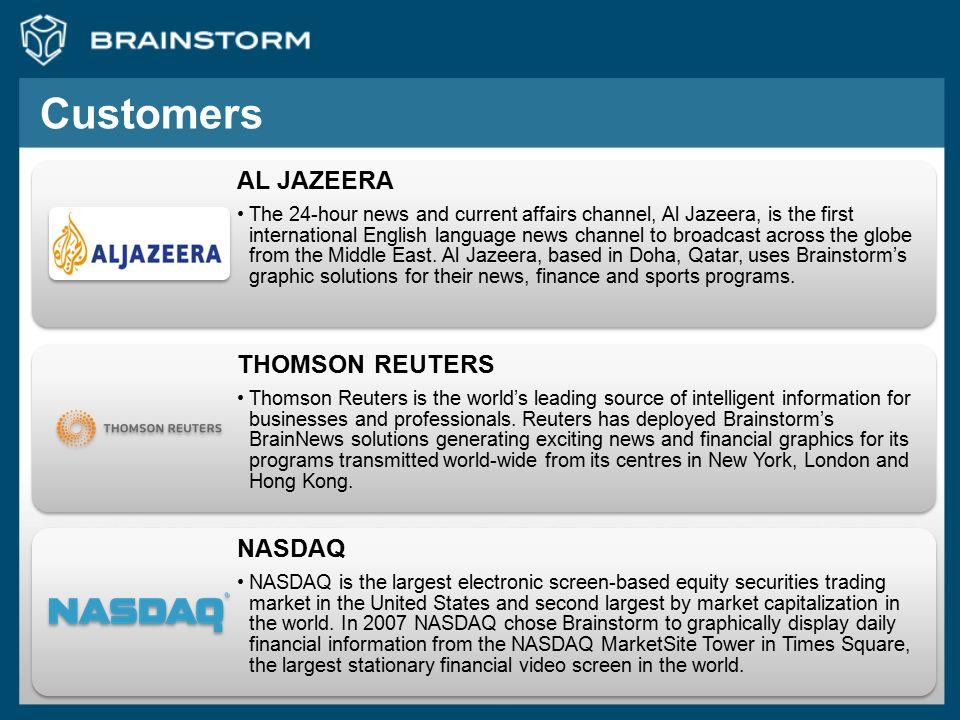 Customers AL JAZEERA.