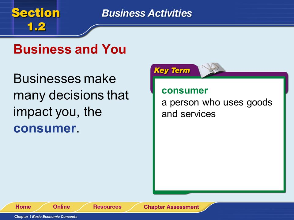 Businesses make many decisions that impact you, the consumer.