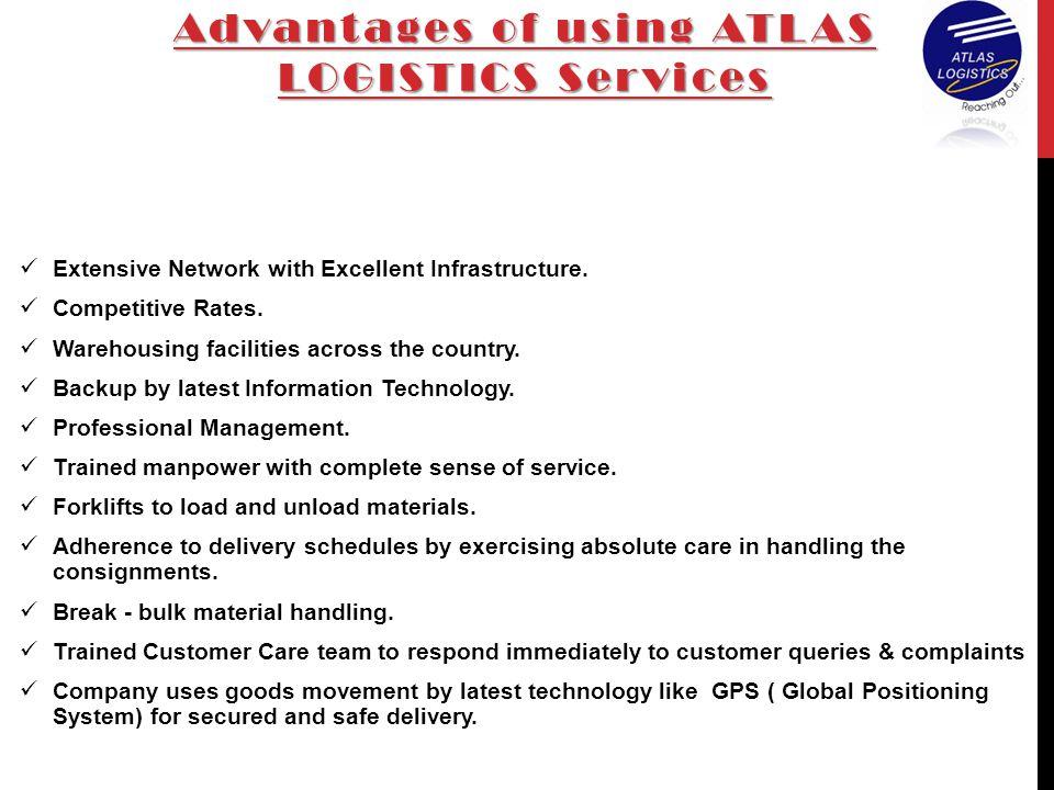 Advantages of using ATLAS