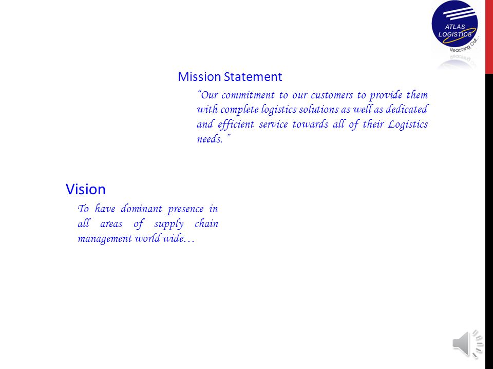Vision Mission Statement