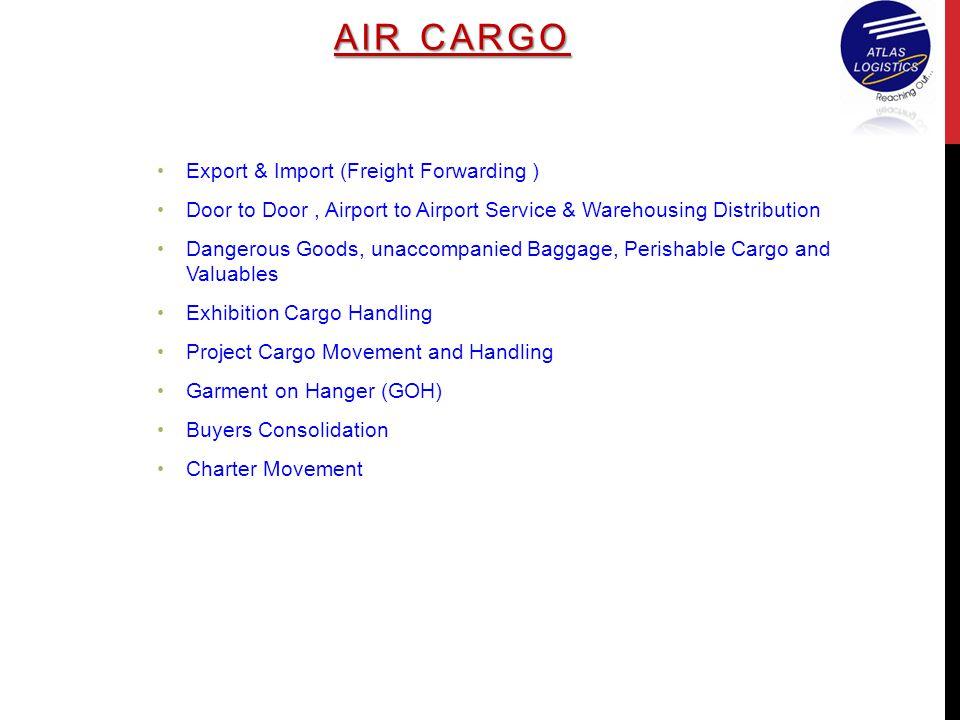 AIR CARGO Export & Import (Freight Forwarding )