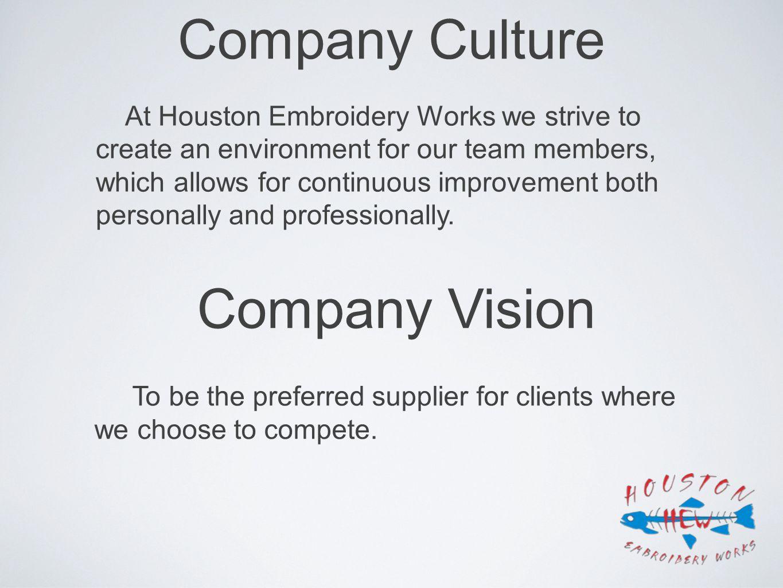 Company Culture Company Vision