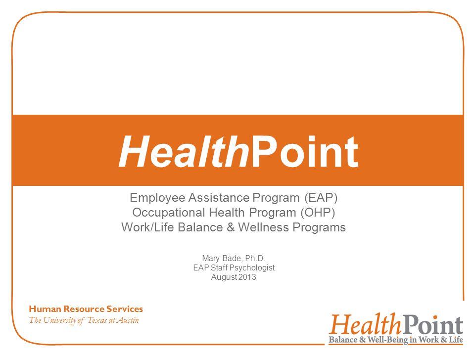 HealthPoint Employee Assistance Program (EAP)