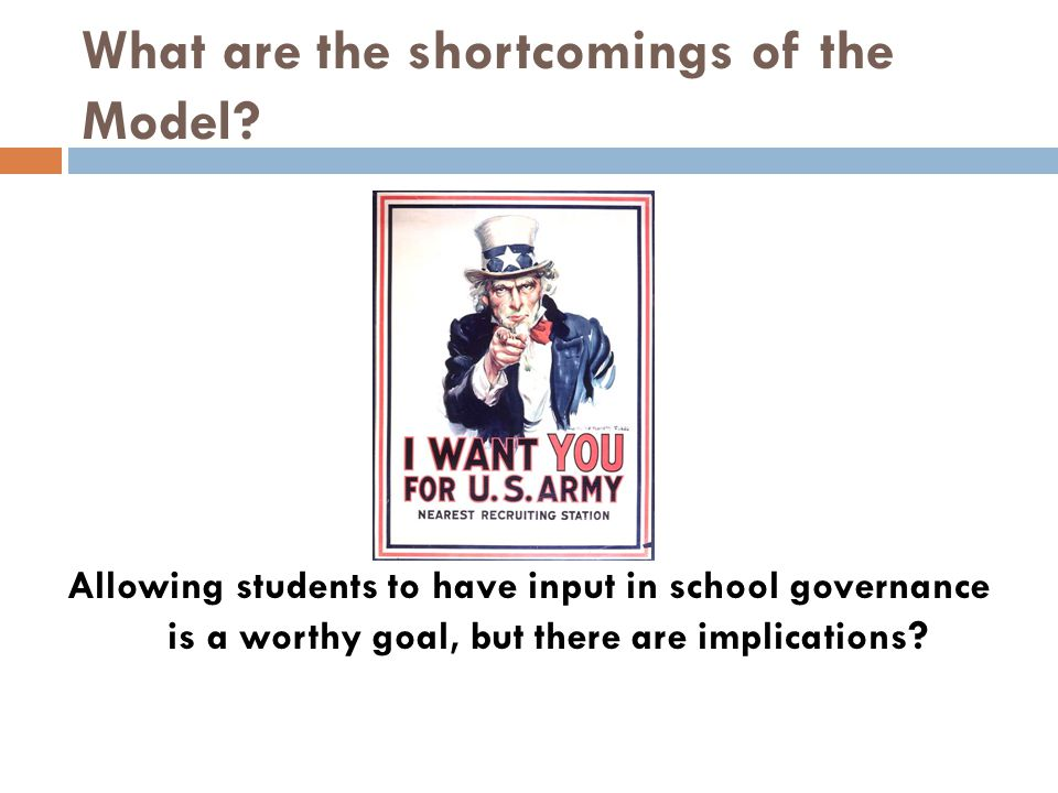 What are the shortcomings of the Model