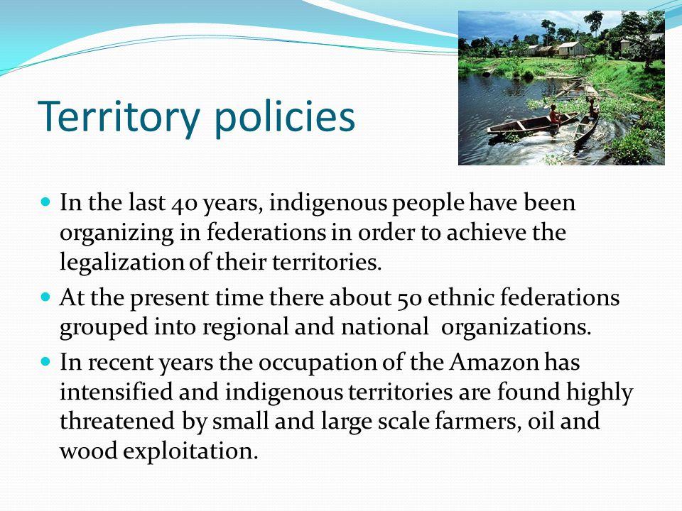 Territory policies