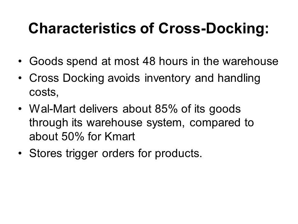 Characteristics of Cross-Docking: