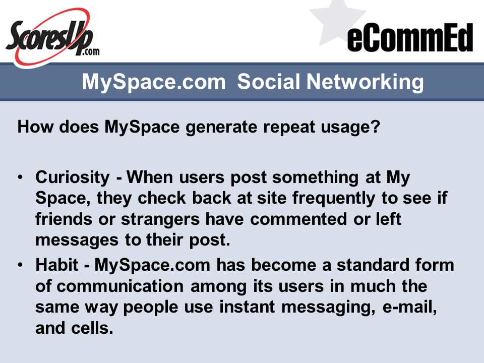 MySpace.com Social Networking