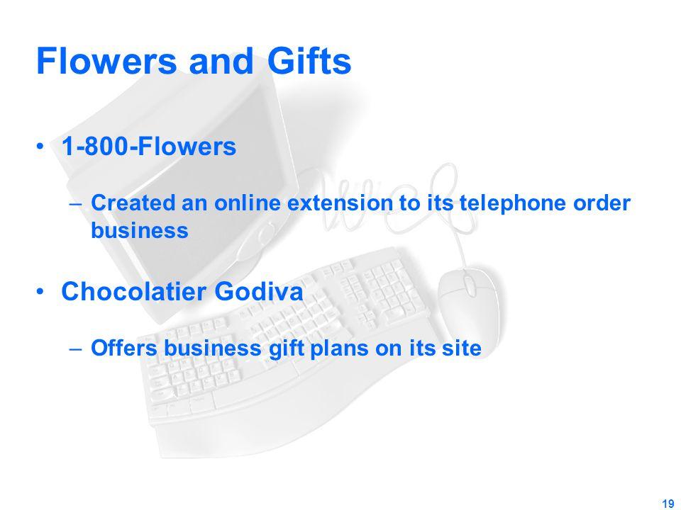 Flowers and Gifts 1-800-Flowers Chocolatier Godiva