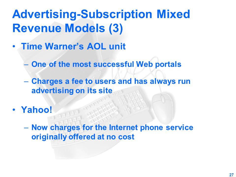 Advertising-Subscription Mixed Revenue Models (3)