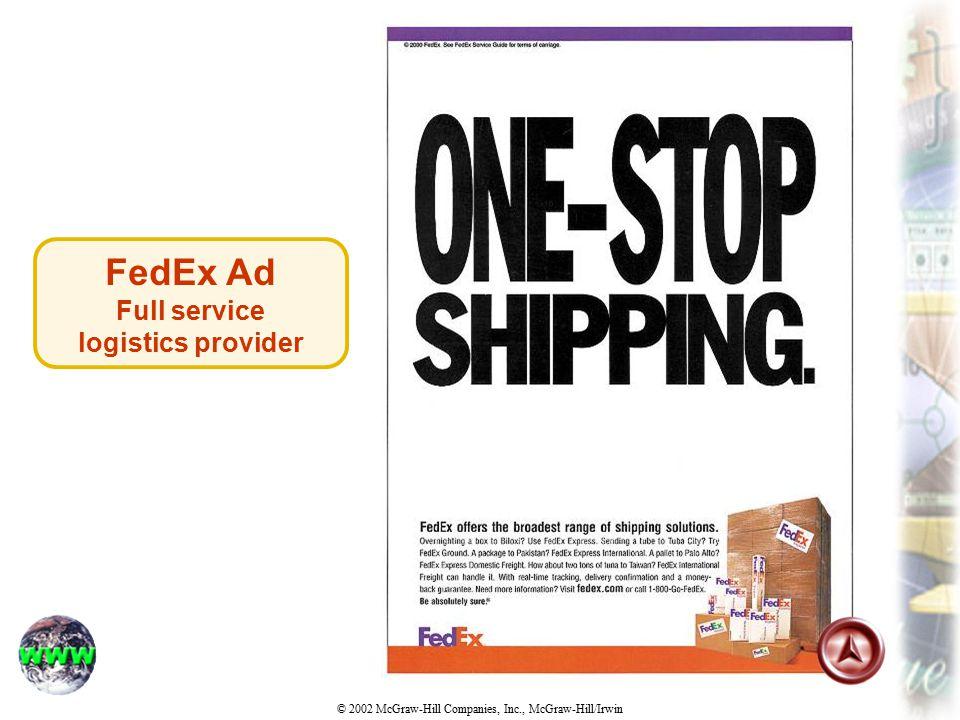 Full service logistics provider