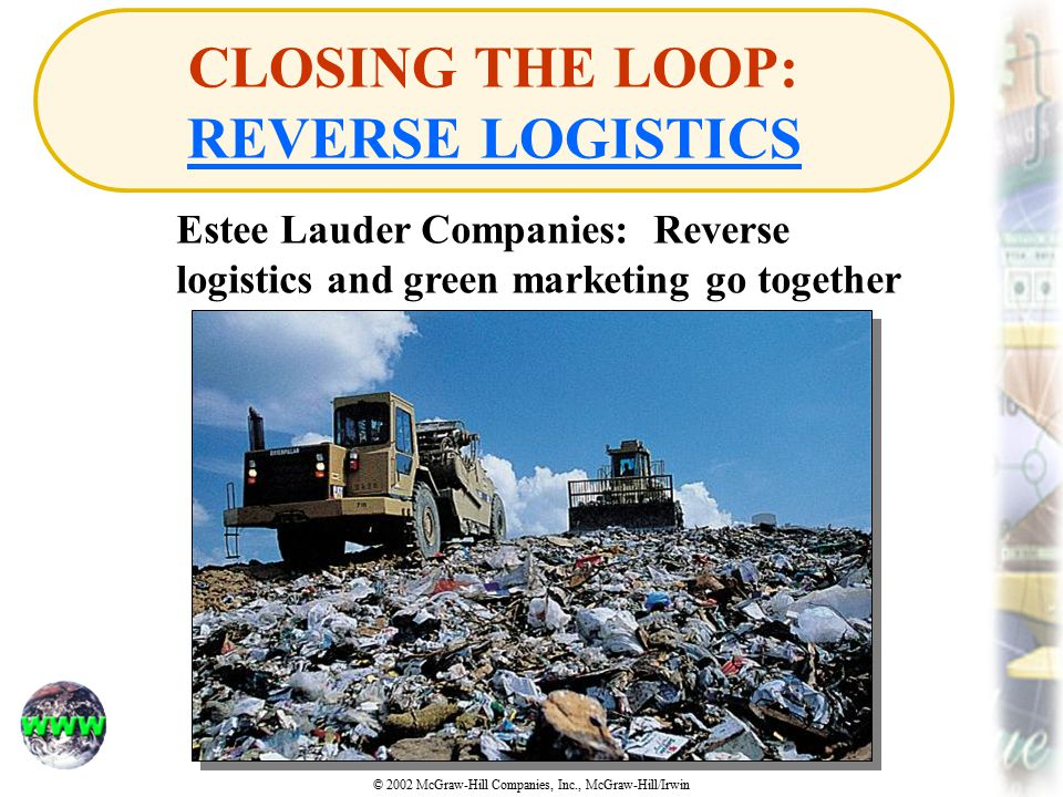 CLOSING THE LOOP: REVERSE LOGISTICS