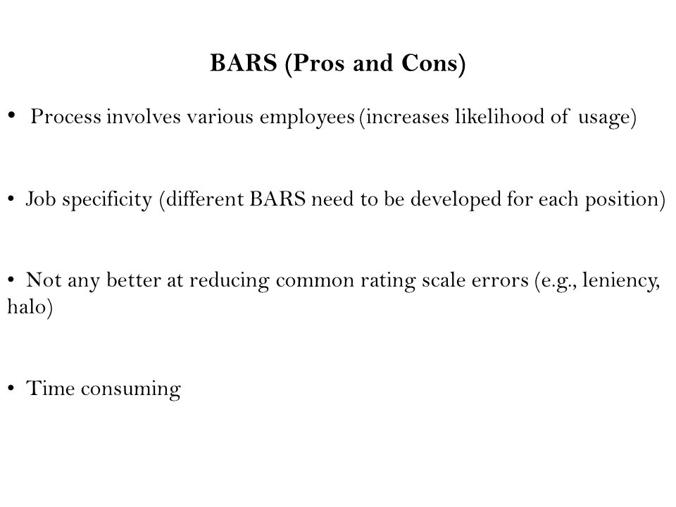 Process involves various employees (increases likelihood of usage)