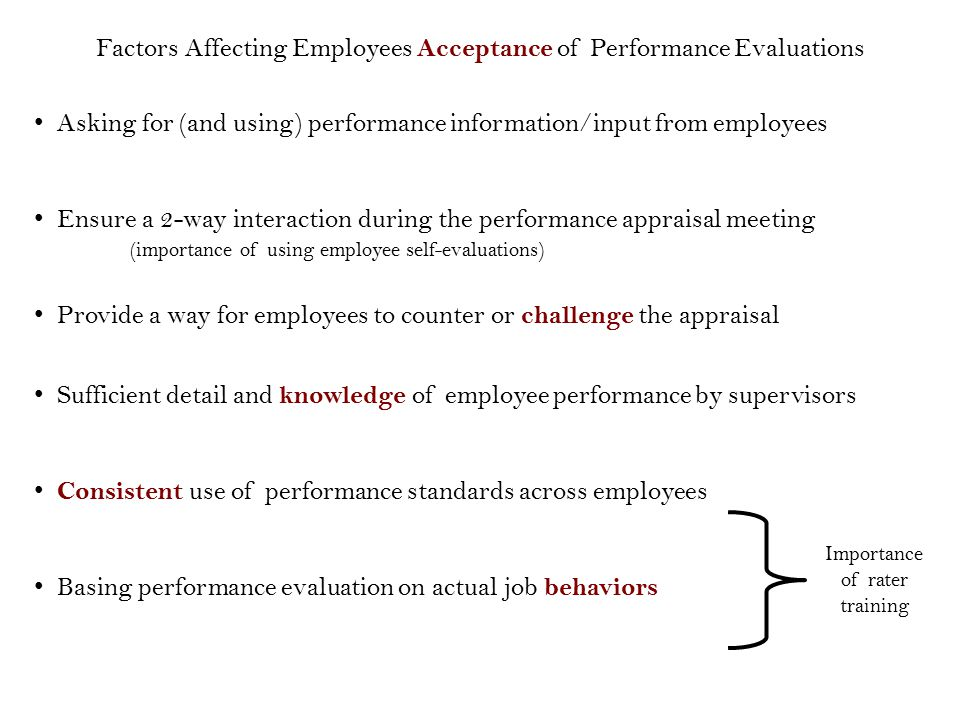 Employee Evaluation Importance This Recalibration In Ratings Will – Self Performance Evaluation