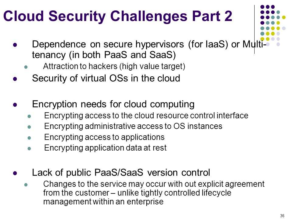 Cloud Security Challenges Part 2