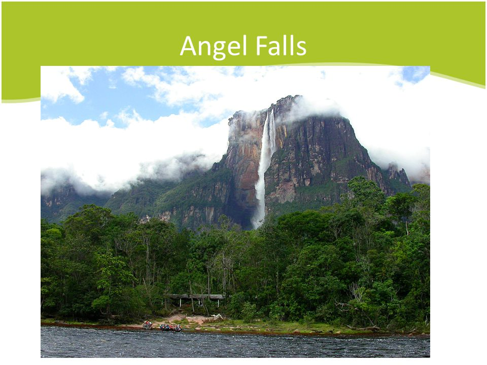 Angel Falls Another shot.