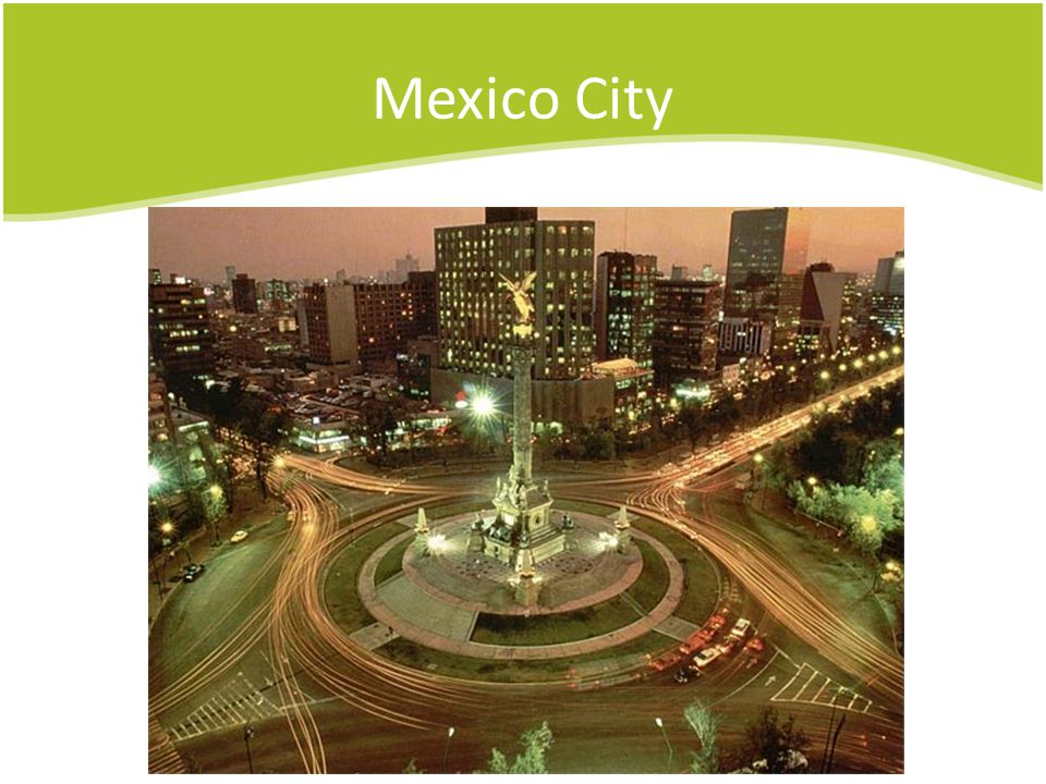 Mexico City Christopher Columbus roundabout
