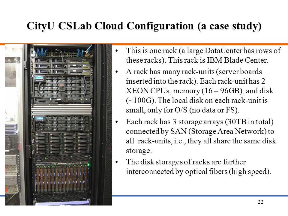 CityU CSLab Cloud Configuration (a case study)