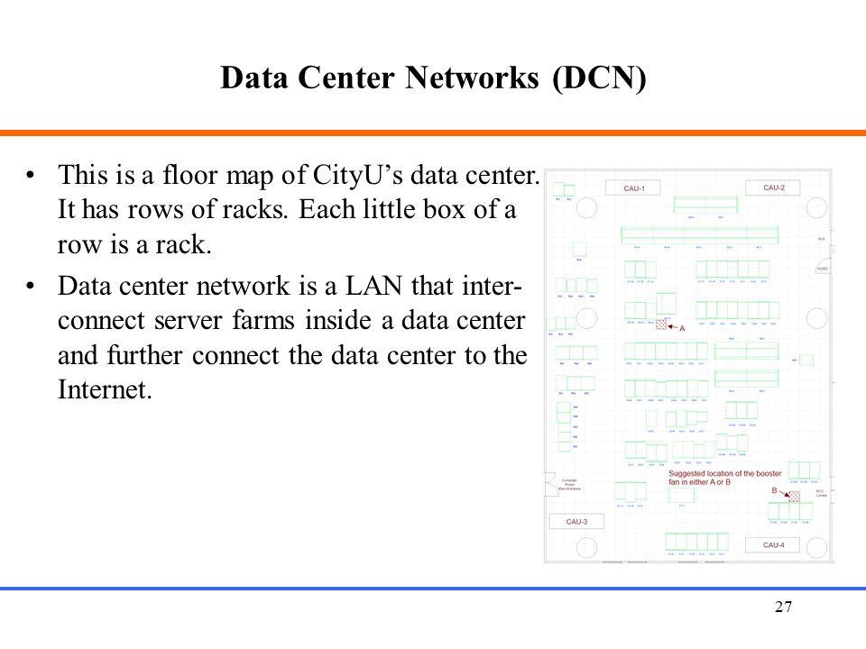Data Center Networks (DCN)