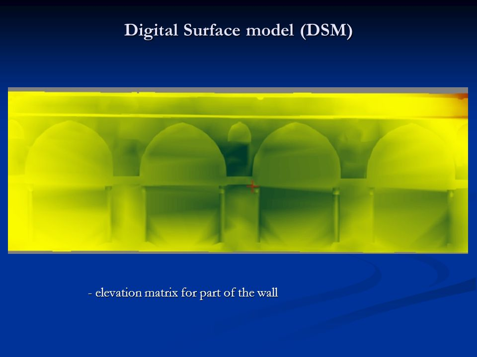 Digital Surface model (DSM)