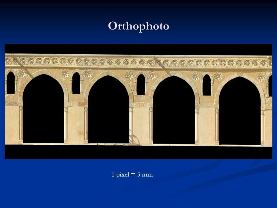 Orthophoto 1 pixel = 5 mm
