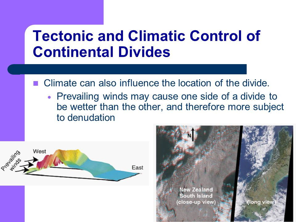 relationship between plate tectonics and climate