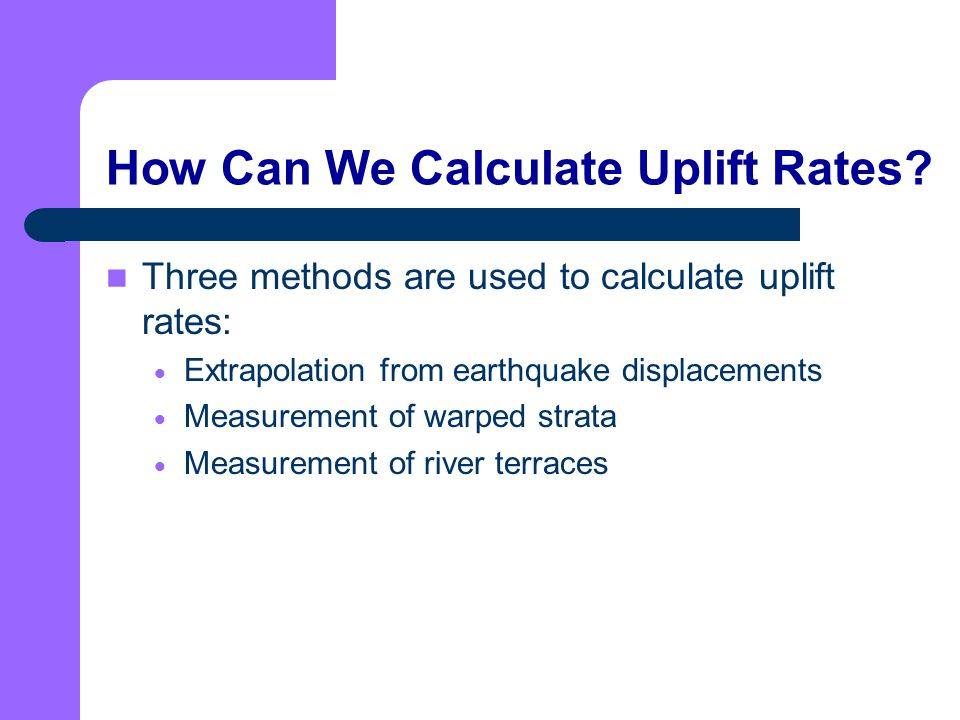 How Can We Calculate Uplift Rates
