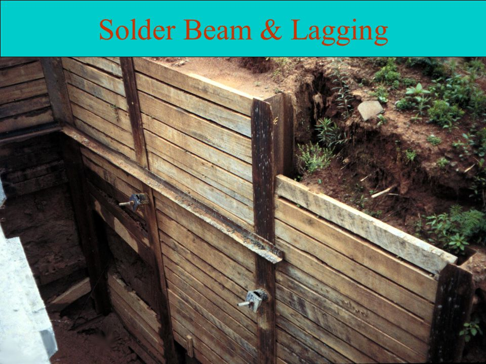 Solder Beam & Lagging