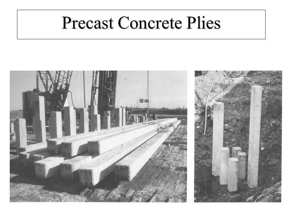 Precast Concrete Plies