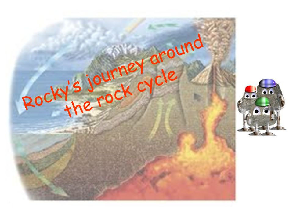 Rocky's journey around the rock cycle