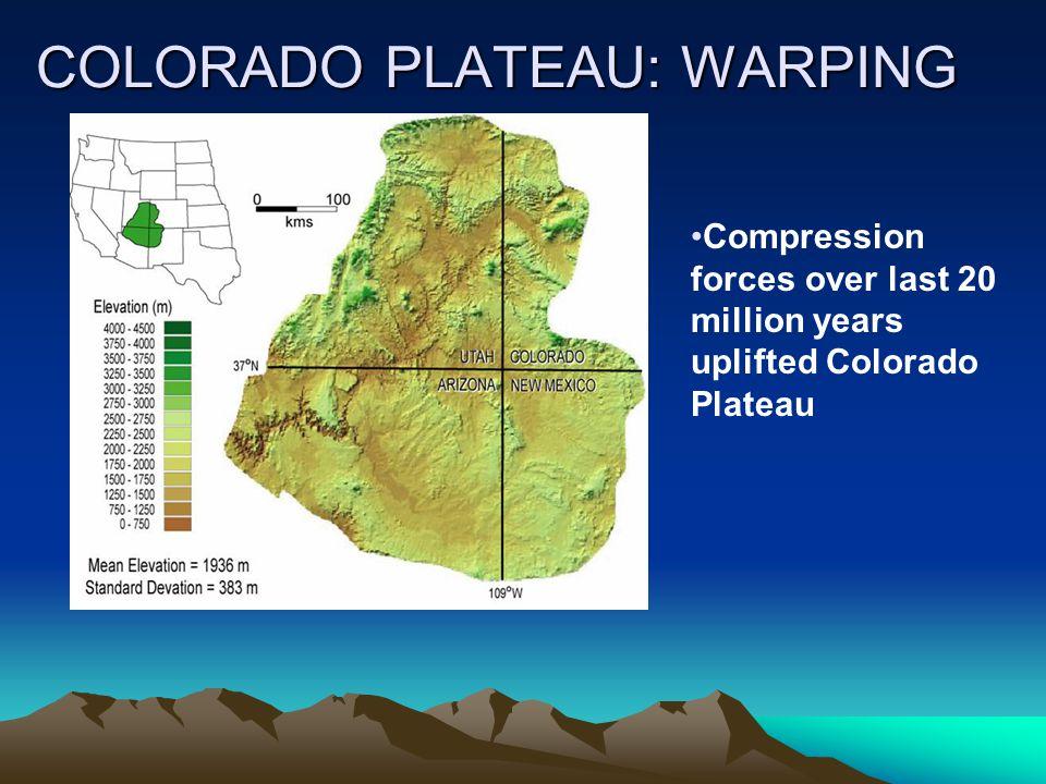 COLORADO PLATEAU: WARPING