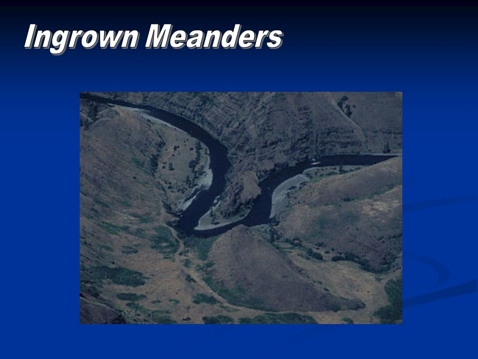 Ingrown Meanders