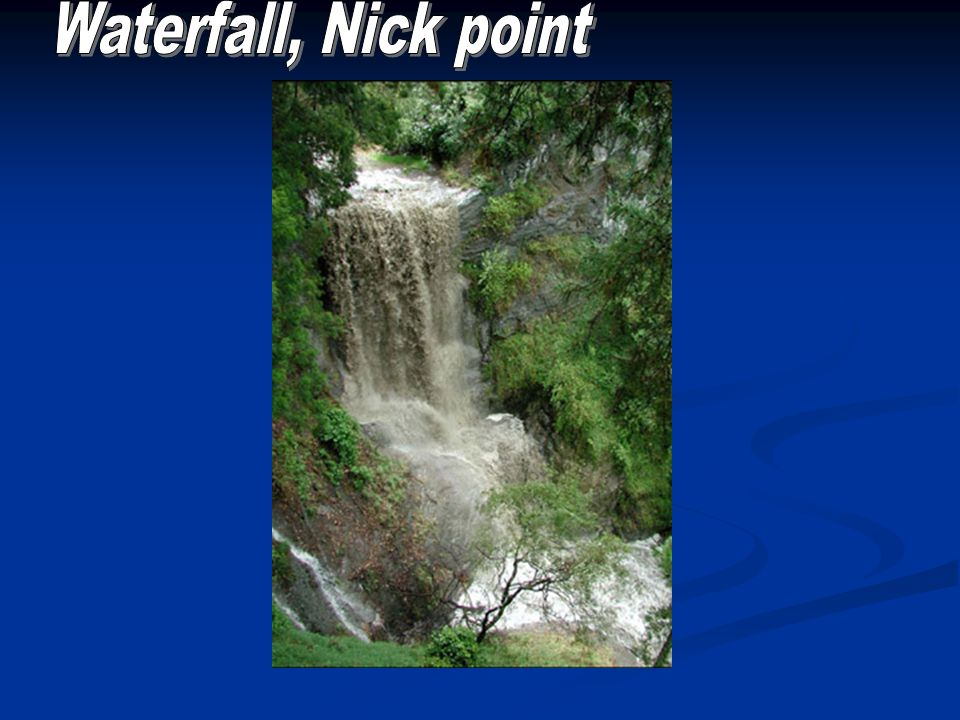 Waterfall, Nick point