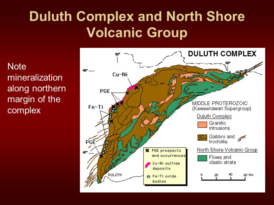 Duluth Complex and North Shore Volcanic Group