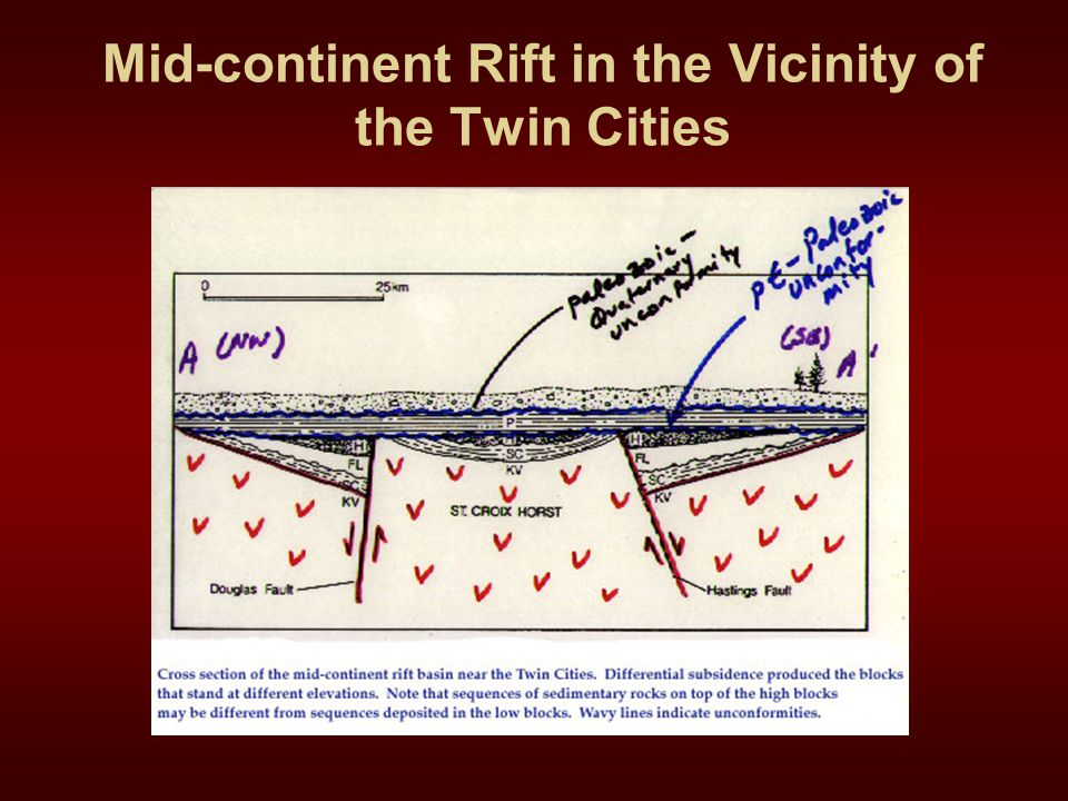 Mid-continent Rift in the Vicinity of the Twin Cities